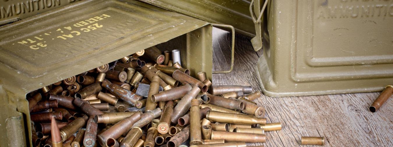 box of ammunition